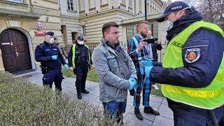 Demonstracja – Strajk Przedsiębiorców – Warszawa 31.3.2020r.
