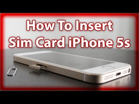 how to open sim card slot on iphone 5 how to remove insert a sim card in an iphone 21382