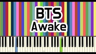 BTS(방탄소년단) - AWAKE piano cover