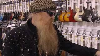 Billy Gibbons & Criss Angel Visit Ed Roman Guitars in Las Vegas
