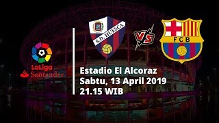 Video Live Streaming dan Jadwal Laga Huesca vs Barcelona Sabtu (13/4) Via MAXStream beIN Sport
