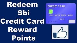 Redeem Sbi Credit Card Reward Points, Redeem Credit Card Reward Points,Sbi Rewards  | TechnicalNG