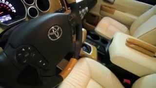 Смотреть онлайн Тюнинг салона Toyota Sequoia