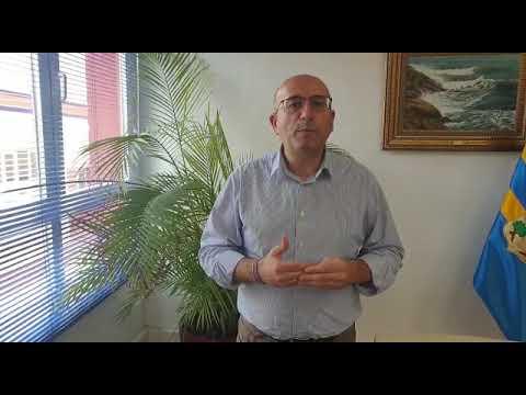 Manuel López Mestanza, diputado de Economía, Hacienda y Administración Electrónica de la Diputación de Málaga, celebra la Semana Internacional de los Archivos 2020