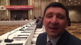 Андрей Тищенко на заседании Совета директоров CGI!