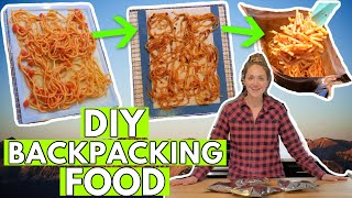 HOW TO DEHYDRATE YOUR OWN BACKPACKING FOOD: DIY Backpacking Meals (how I Do It!)