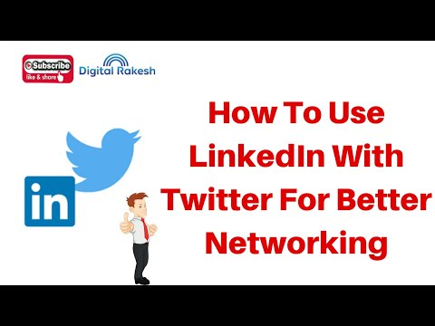 How to Use LinkedIn company page With Twitter for Better Networking 2020