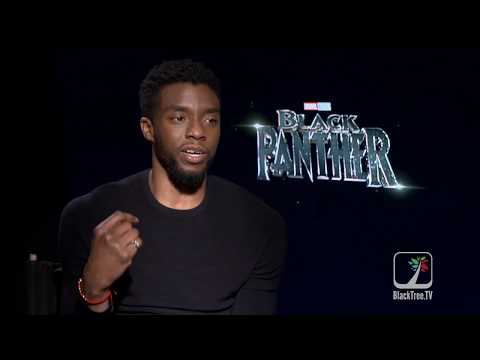 Black Panther on BlackTree: Chadwick Boseman—Exclusive Interview