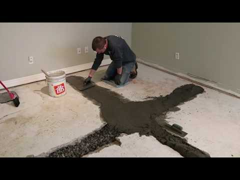 Interior Waterproofing in 30 Seconds!