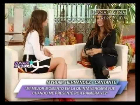 Myriam Hernandez  - Programa Zona de estrellas [2012]