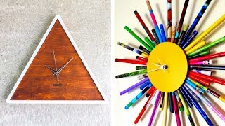 50 Ярких Хенд Мейд Идеи Для Настенных Часов