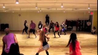 Whatcha Doing today   4Minute Kpop Classes by I LOVE DANCE 480p