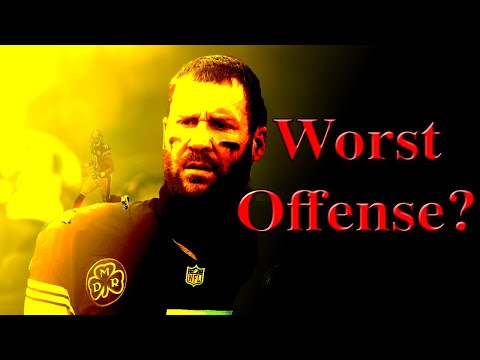 Will the STEELERS have the WORST offense in the AFC North?