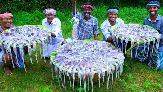 SQUID MASALA | 30KG Squid Cooking In Village | Tasty Calamari Recipe | Kanava Meen Cuttlefish Gravy