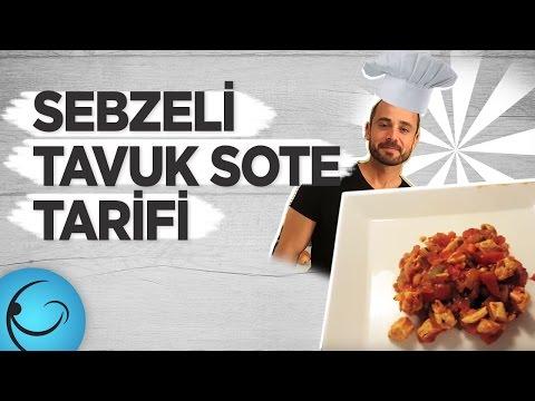 Sebzeli Tavuk Sote | GençVeFit - Sağlıklı Beslenme