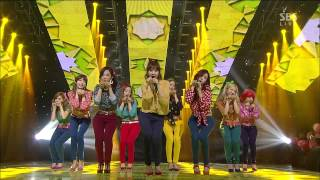 [YTMA 뮤직비디오상 수상] 소녀시대 (Girls' Generation) [Dancing Queen / I Got A Boy] @SBS Inkigayo 인기가요 20130106