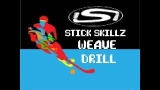 How to Perform a Weave Drill - Stick Skillz Tutorial