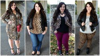 The Leopard Lookbook   Plus Size Fashion  