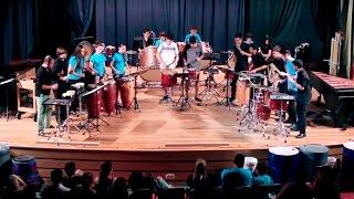 Robert J. Damm.- Hoo-Daiko Ensemble Alumnado PercuFest 2016 dirigido por Aarón Cristófol