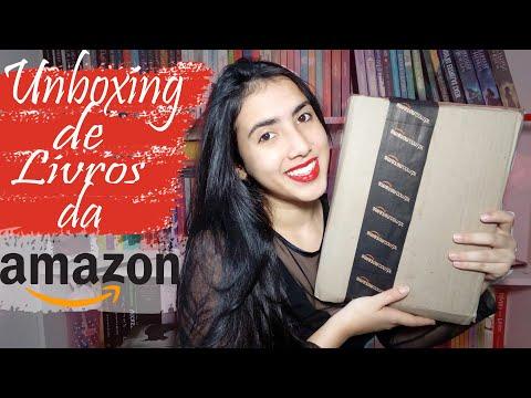 ?UNBOXING     Amazon?   Leticia Ferfer   Livro Livro Meu
