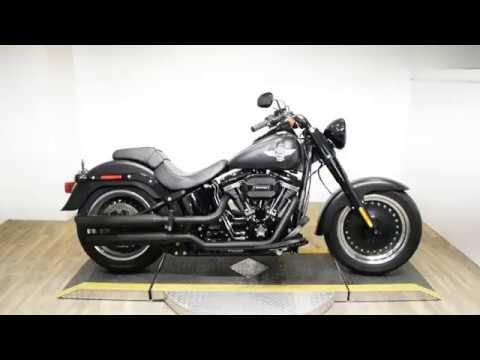 2016 Harley-Davidson Fat Boy® S in Wauconda, Illinois - Video 1