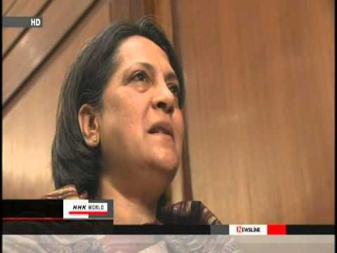 Ambassador-designate Ms. Deepa Gopalan Wadhwa's interview to NHK in New Delhi