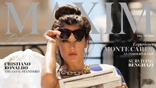 Alessandra Ambrosio Poses Completely Nude on the Cover of Maxim