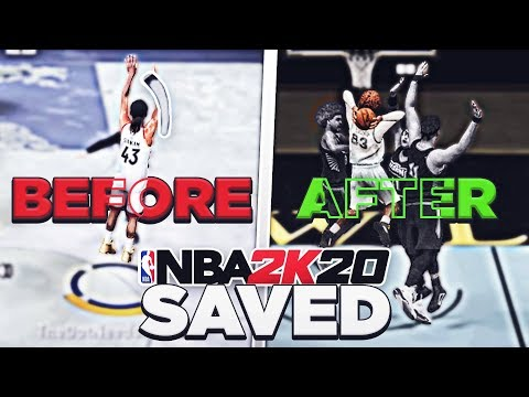 NBA 2K20 WAS JUST SAVED BY THIS UPDATE...