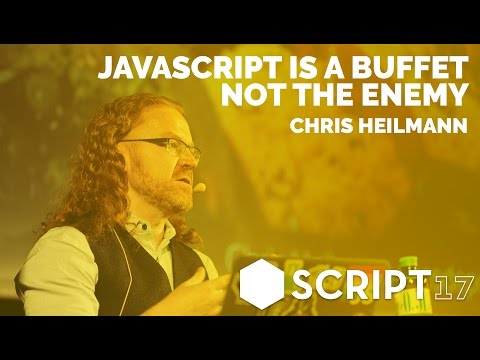 JavaScript is a buffet, not the enemy