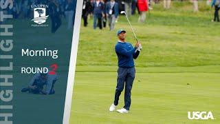 2019 U.S. Open, Round 2: Morning Highlights