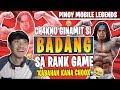 CHOOX KABAHAN NA sa BADANG ni CHAKNU 😂 GINAMIT SA RANK GAME! 570 DIAMONDS GIVEAWAY | MOBILE LEGENDS
