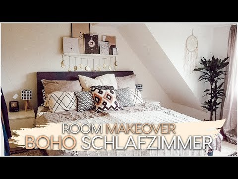 Boho Schlafzimmer Makeover 😍 | AnaJohnson