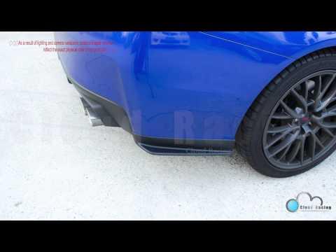 Spats Caps For Subaru WRX 2015-2019 Aero Rear Bumper Aprons STI ABS