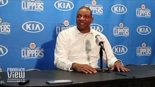 Doc Rivers Talks LA Clippers Deadline Trades, Ivica Zubac, Loss Of Tobias Harris & Devin Booker
