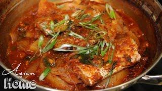 Korean Spicy Braised Beltfish (Galchi Jorim)