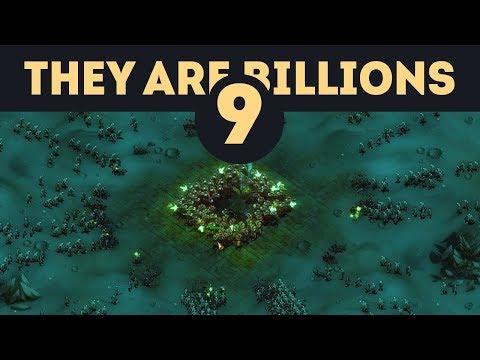 Уничтожение орды из 12000 зомби - They Are Billions - Кампания Новой Империи / Эпизод 9
