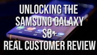 Cellunlocker.net Customer Reviews: Real Customer Unlocking his Samsung Galaxy S8+