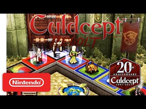 Culdcept Revolt Launch Trailer - Nintendo 3DS