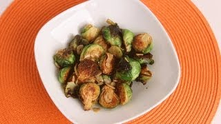 Garlic Brussels Sprouts Recipe - Laura Vitale - Laura in the Kitchen Episode 505