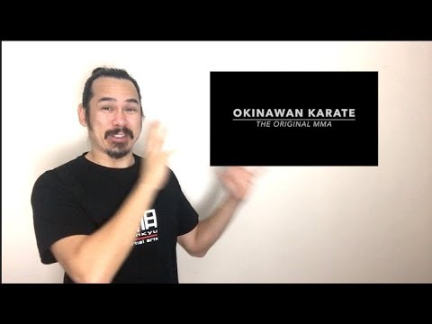 "What to take away from the ""Okinawan Karate: the original MMA"" video"