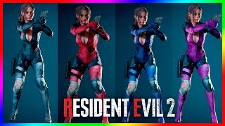 Resident Evil 2 Mods Claire Redfield Battlesuit Costume
