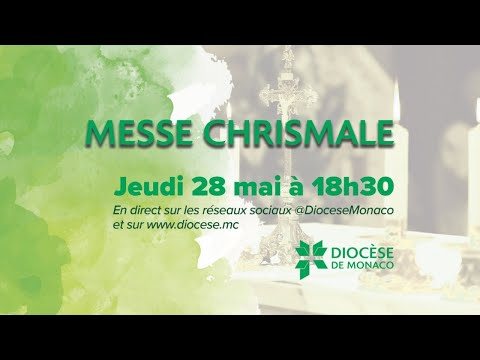 Messe Chrismale en direct de la Cathédrale de Monaco
