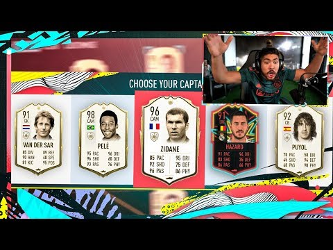 OMG 4 ICONS IN 1 DRAFT! GF OPENS REWARDS! FIFA 20