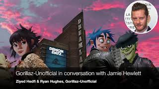 Gorillaz-Unofficial Talks W Jamie Hewlett - Gorillaz Unannounced Future And More