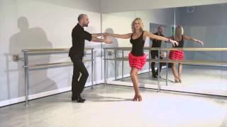 Смотреть онлайн Первый урок танца ча-ча-ча для начинающих