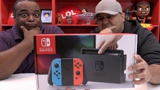 Nintendo Switch REACTION w/ Dashie!