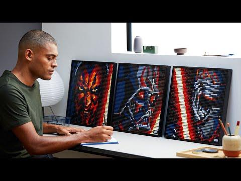 Vidéo LEGO Art 31200 : Star Wars Les Sith