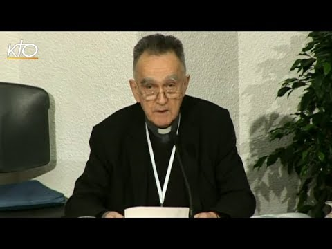 Assemblée des évêques - Séance d'ouverture (printemps 2014)