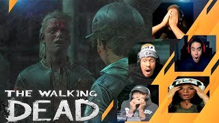 Gamers Reactions to (SPOILER!!!) AJ shooting Marlon (Ending) | The Walking Dead: The Final Season