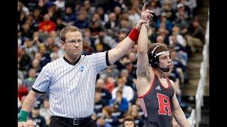 Rutgers' Nick Suriano advances to NCAA final